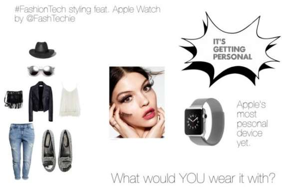 apple watch outfit polyvore