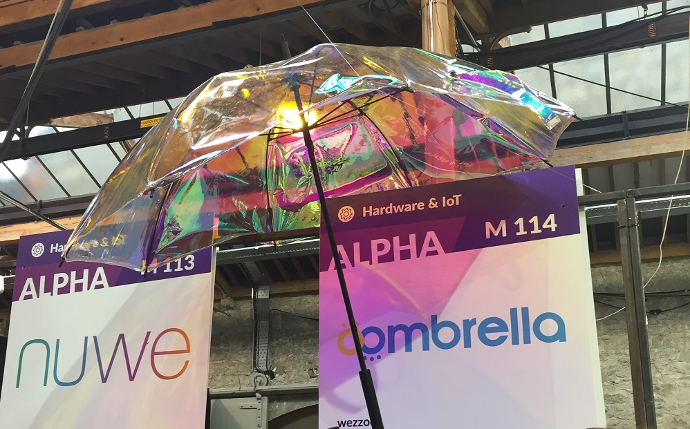 smart umbrella - oombrella